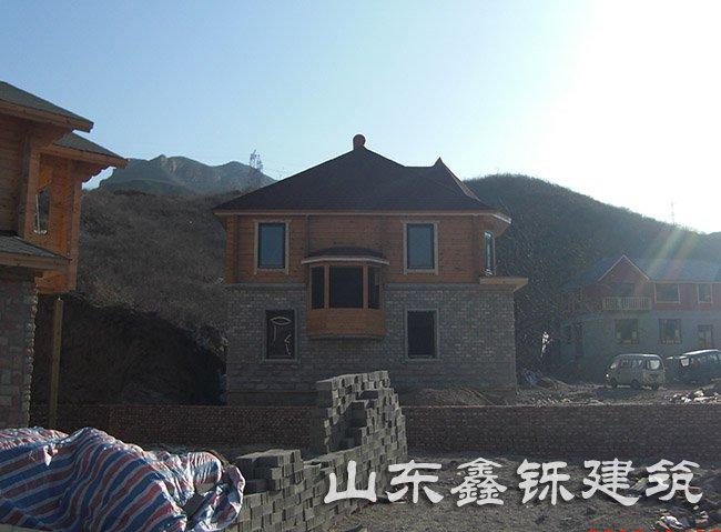 北京的轻钢别墅建筑项目