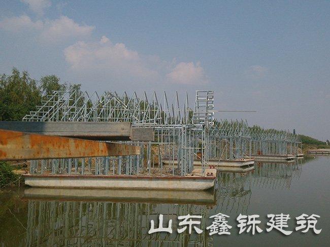 济宁水上轻钢结构建筑案例