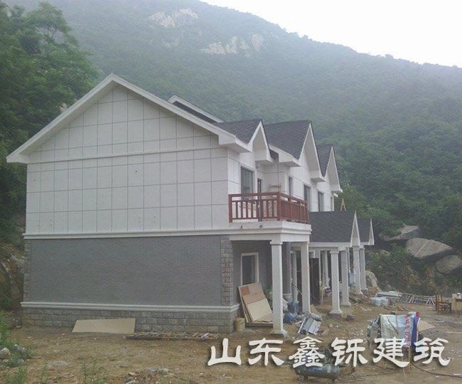 泰安轻钢别墅项目案例