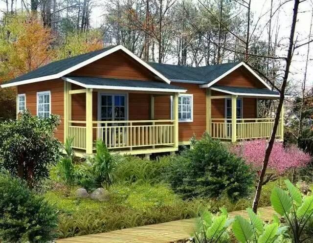 景区小户型木屋别墅案例