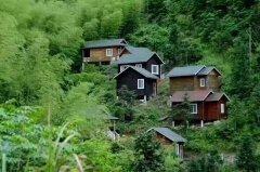 <b>景区内的木屋别墅让人更想居住</b>
